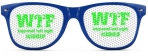 BLUE | GREEN WTF HAPPENED LAST NIGHT SUNGLASSES CASHCLIP HITSTARS SPRING BREAK 2014 PANAMA CITY BEACH FL
