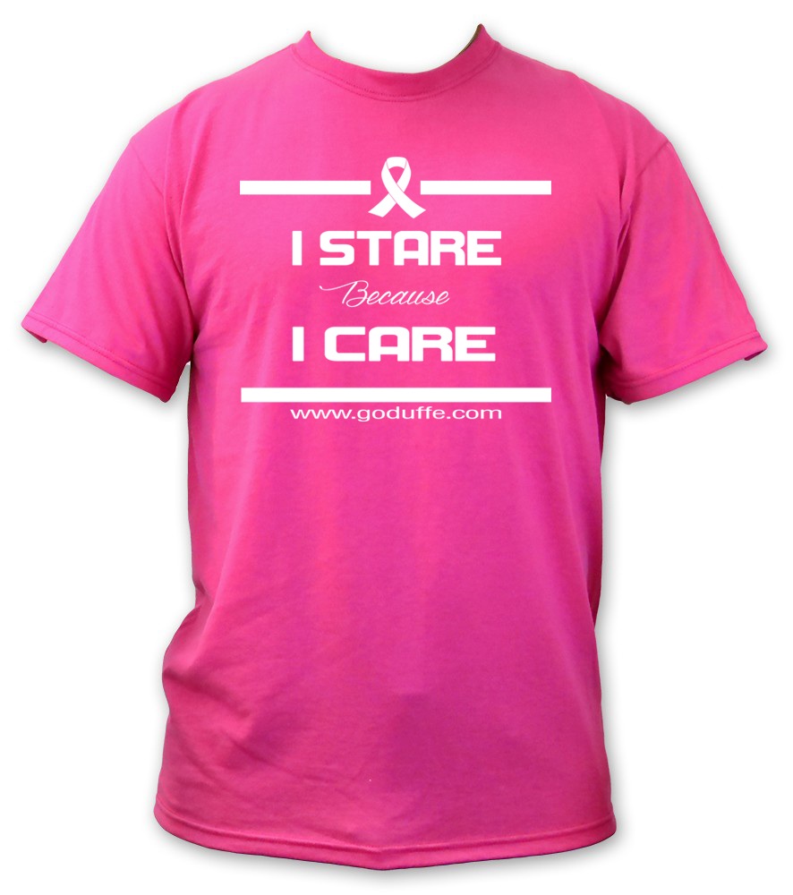 I STARE BECAUSE I CARE 2014 BREAST CANCER AWARENESS